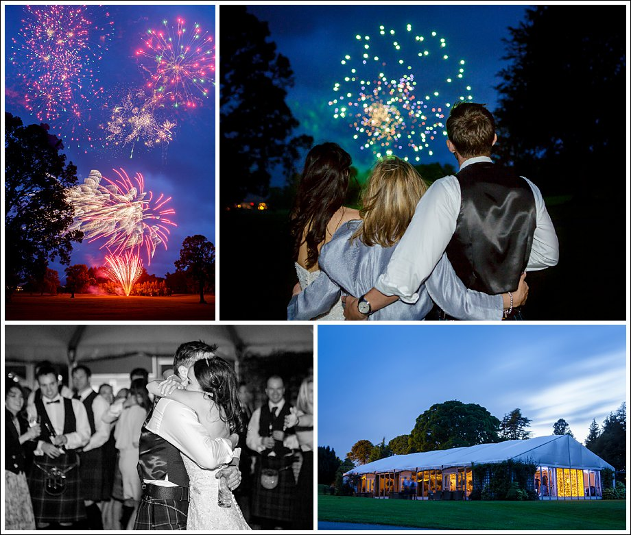 Wedding Fireworks Photography