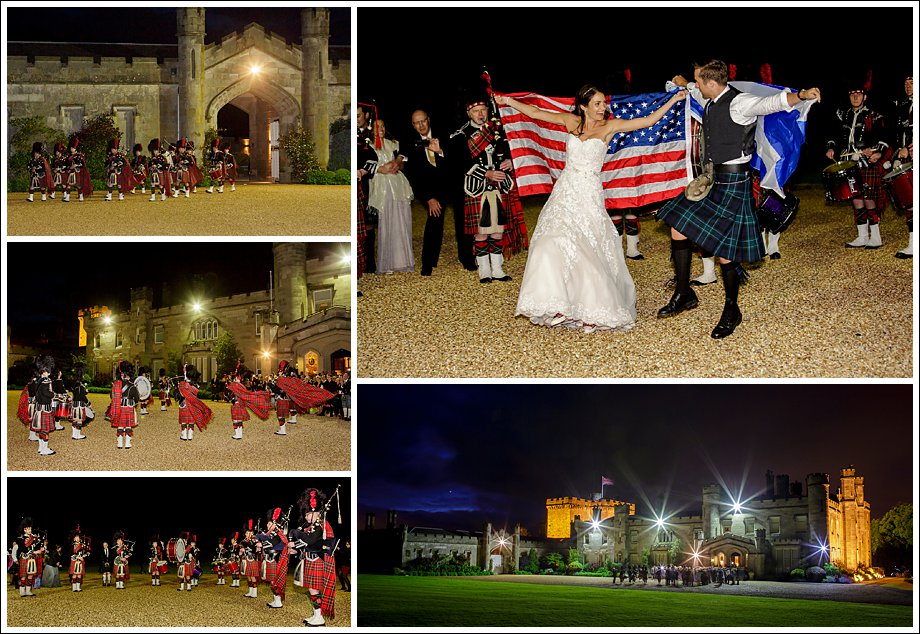 Scottish American Wedding