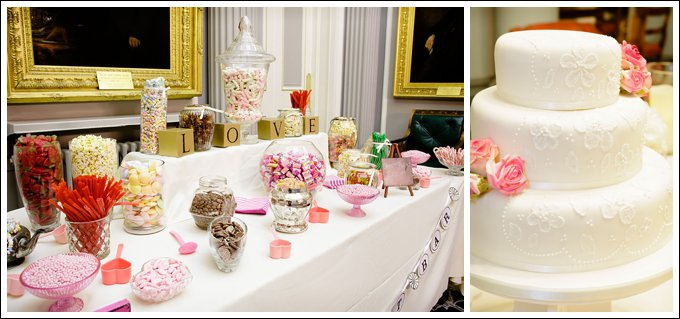 Wedding Candy Buffet Wedding Cake
