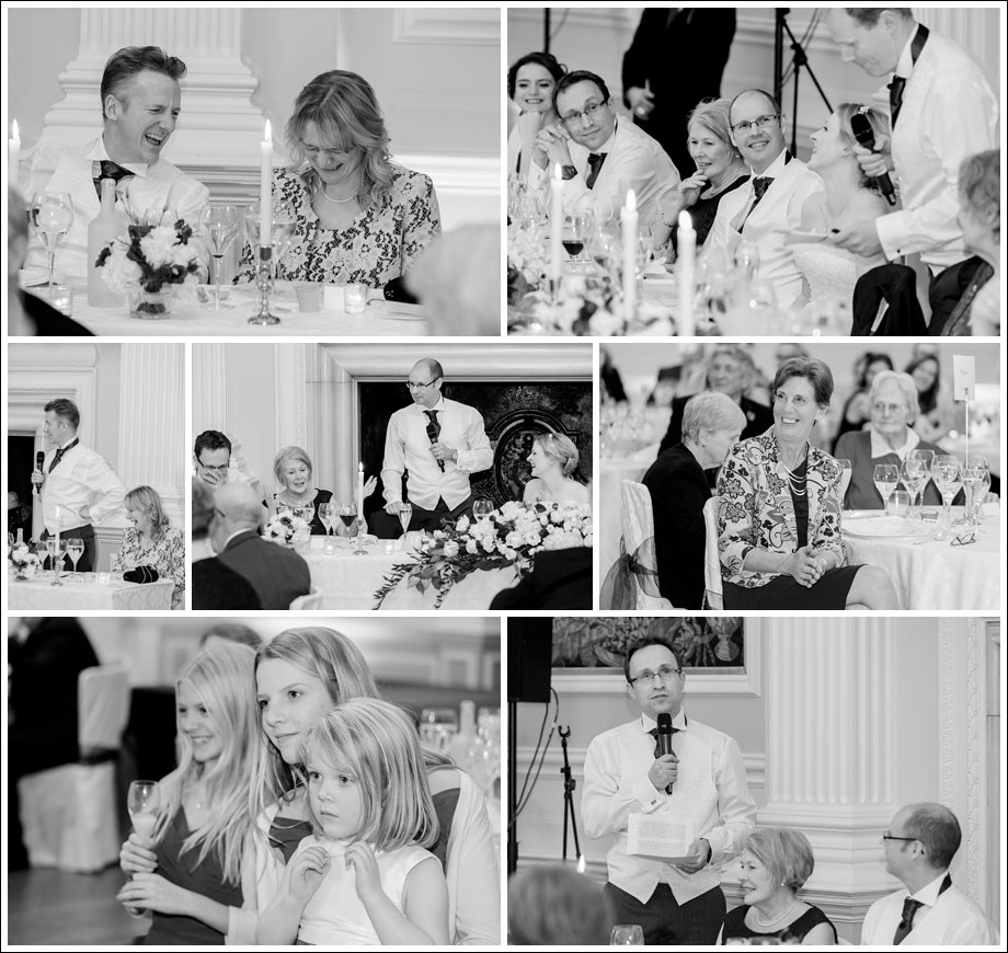 Wedding Photography of Speeches