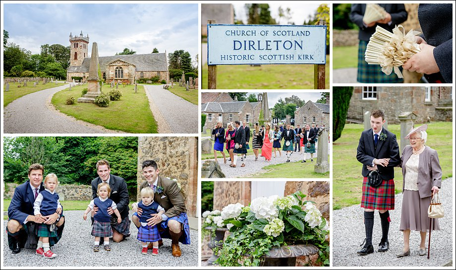 Dirleton Kirk Wedding