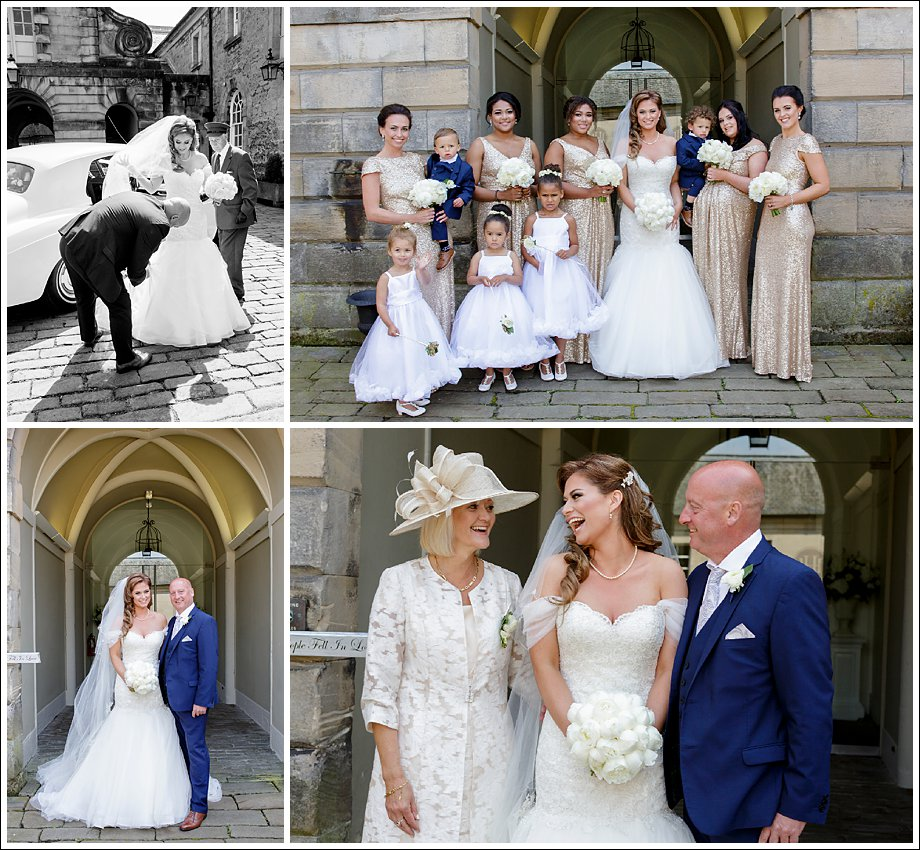 Wedding Photographers at Hopetoun House