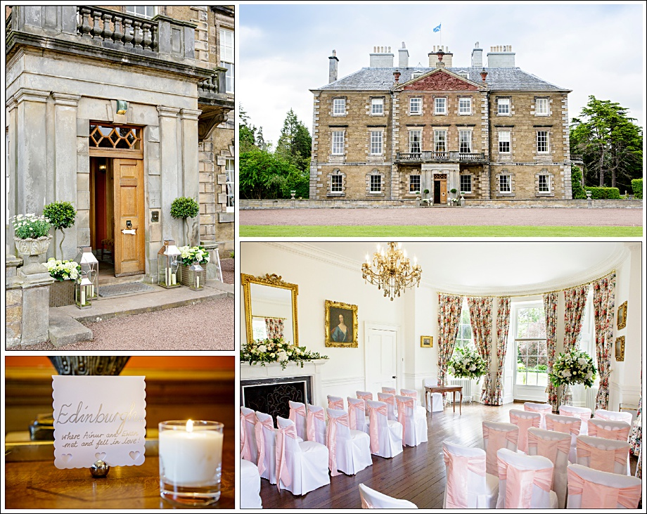 Wedding Photographers Gilmerton House