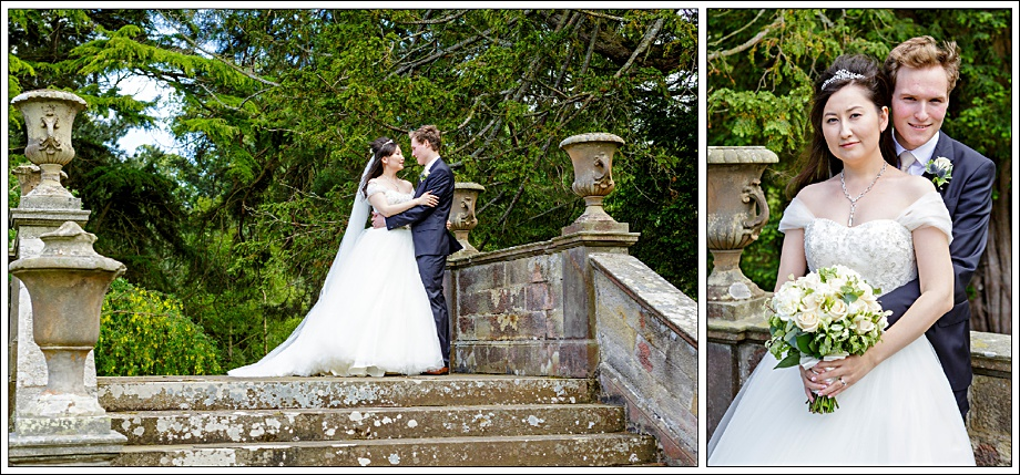 Bride and Groom Gilmerton House Wedding