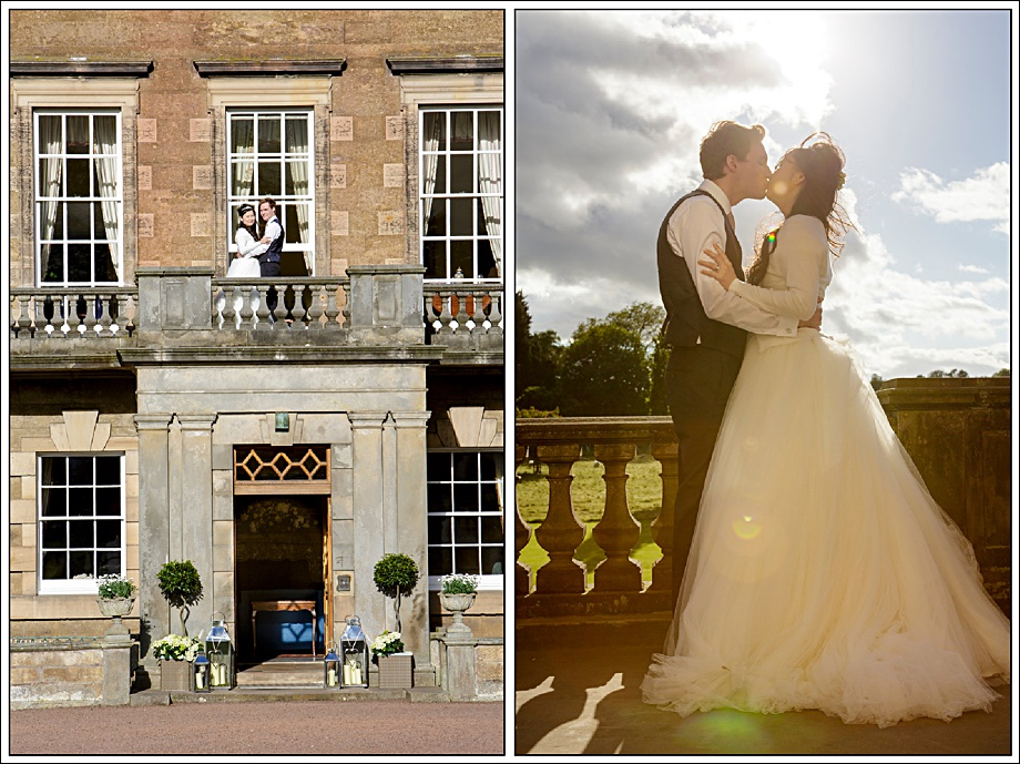 Gilmerton House Summer Wedding
