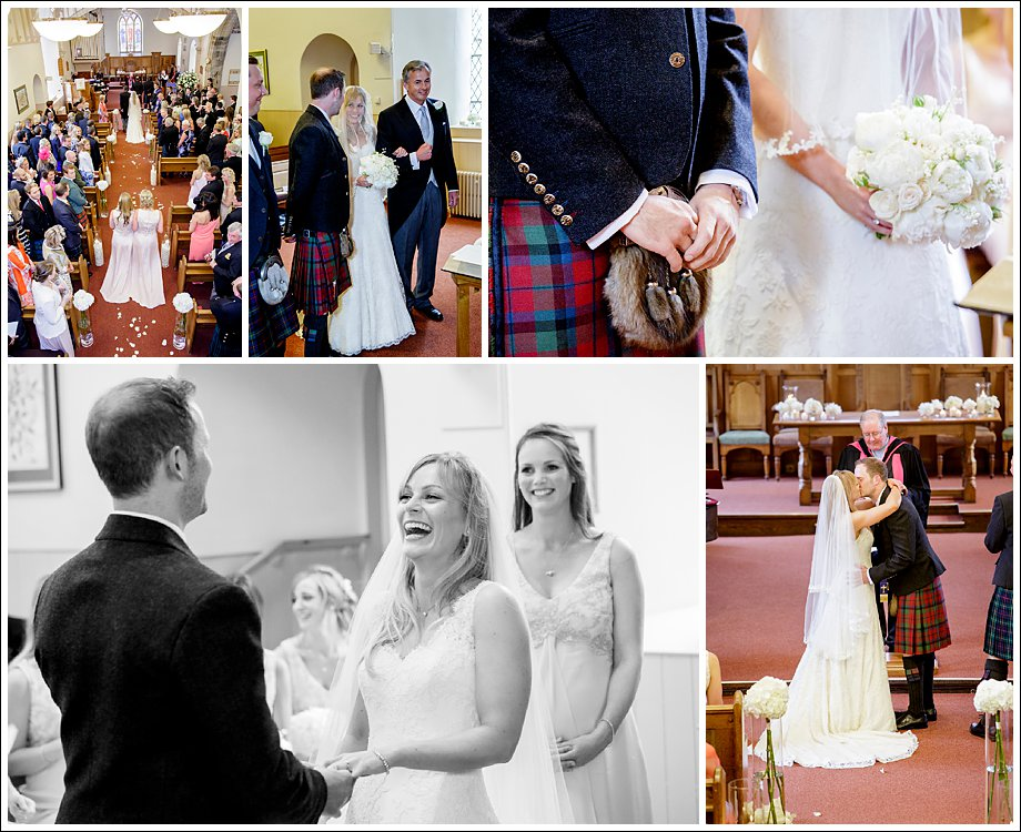Unobtrusive Wedding Photographers in Edinburgh