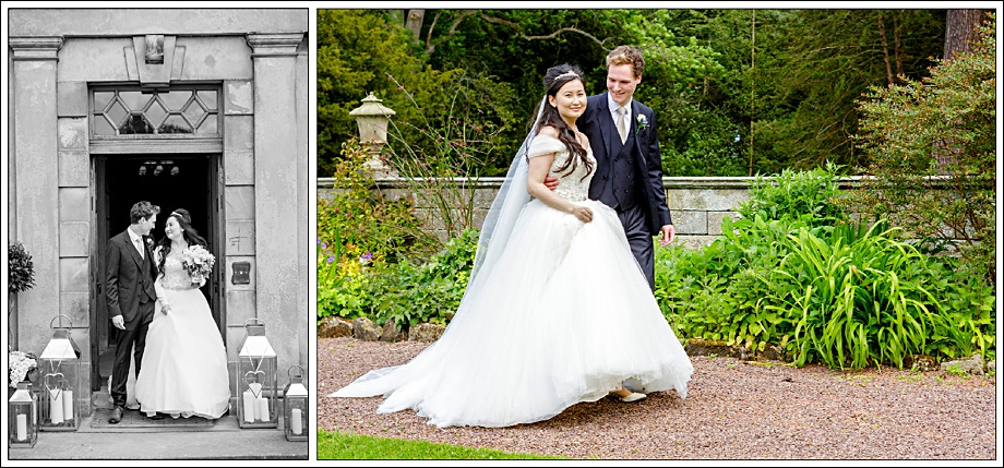 Bride and Groom Gilmerton House