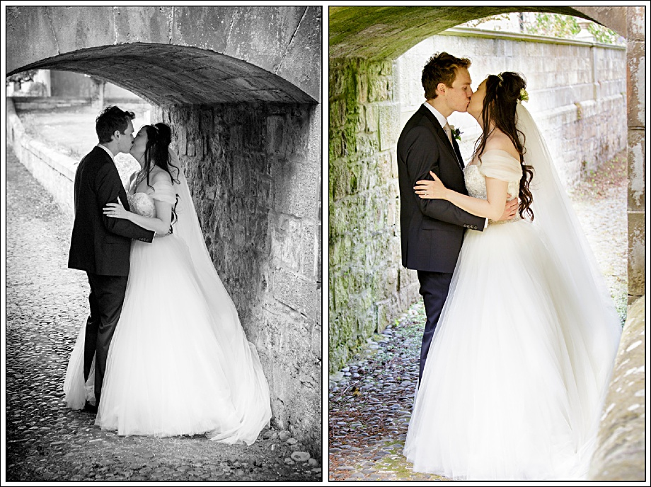Kissing Couple, Wedding Photography