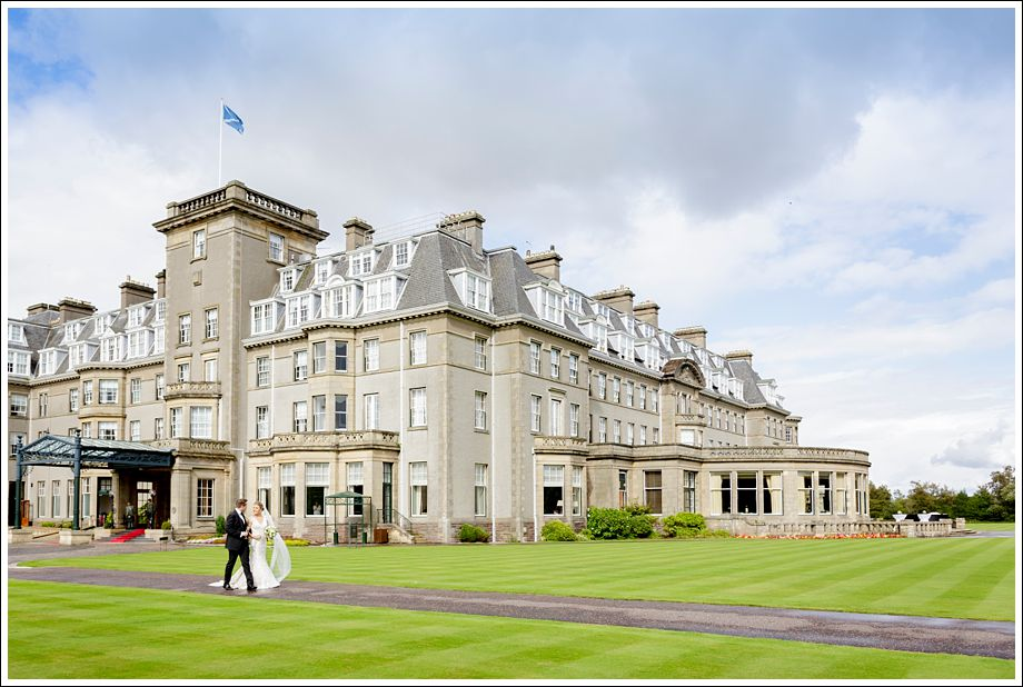 The Gleneagles Hotel Wedding