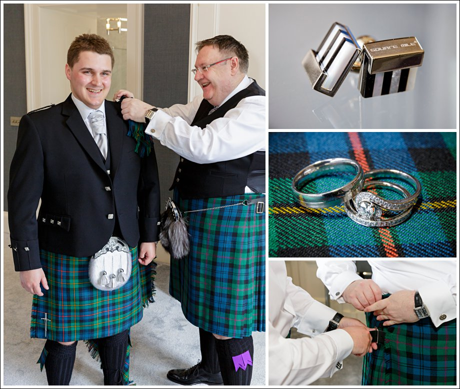 Kilts and wedding rings