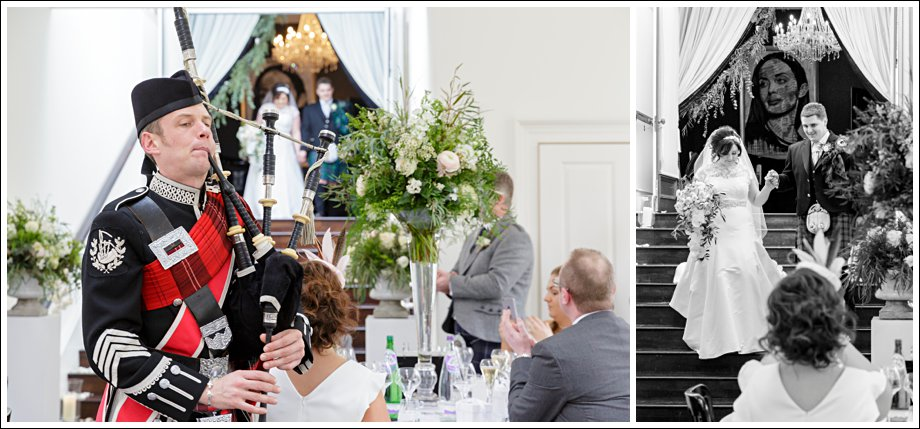 Wedding at Carlowrie castle
